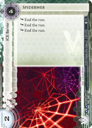 Android Netrunner Spiderweb Image