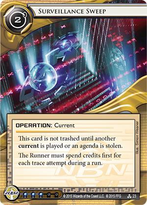 Android Netrunner Surveillance Sweep Image