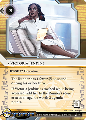 Android Netrunner Victoria Jenkins Image