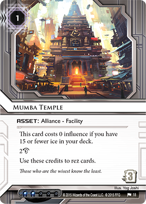Android Netrunner Mumba Temple Image