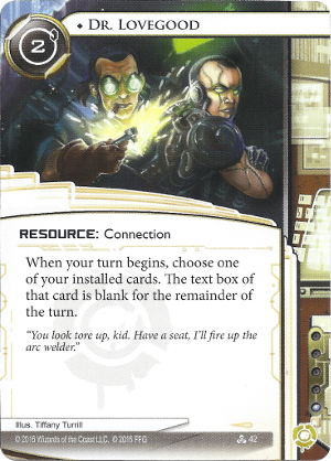 Android Netrunner Dr. Lovegood Image