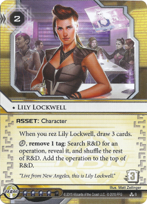 Android Netrunner Lily Lockwell Image