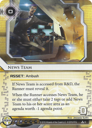 Android Netrunner News Team Image