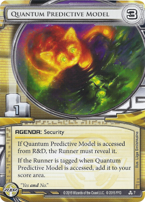 Android Netrunner Quantum Predictive Model Image