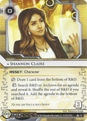 Android Netrunner Shannon Claire Image