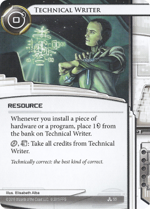 Android Netrunner Technical Writer Image
