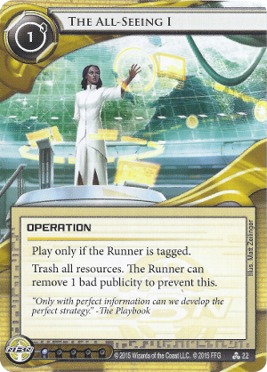 Android Netrunner The All-Seeing I Image