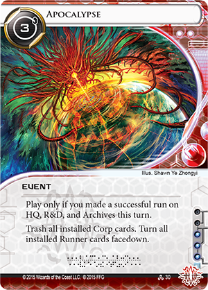 Android Netrunner Apocalypse Image