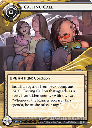 Android Netrunner Casting Call Image
