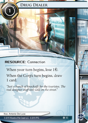 Android Netrunner Drug Dealer Image
