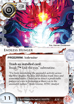 Android Netrunner Endless Hunger Image