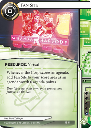 Android Netrunner Fan Site Image
