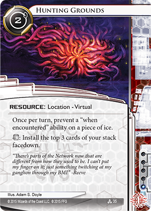 Android Netrunner Hunting Grounds Image