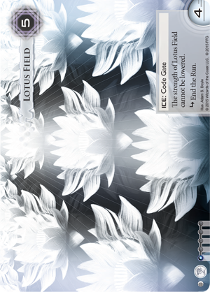 Android Netrunner Lotus Field Image