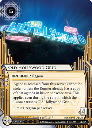 Android Netrunner Old Hollywood Grid Image
