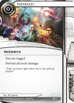 Android Netrunner Paparazzi Image