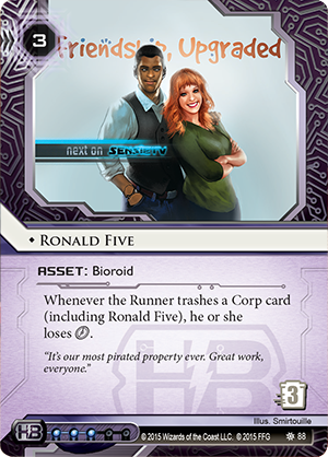 Android Netrunner Ronald Five Image
