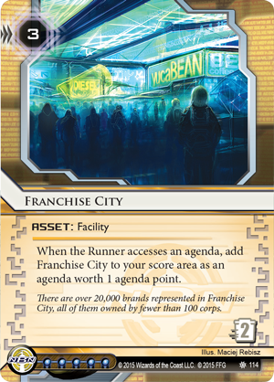 Android Netrunner Franchise City Image
