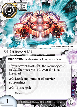 Android Netrunner GS Sherman M3 Image