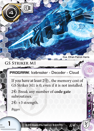 Android Netrunner GS Striker M1 Image