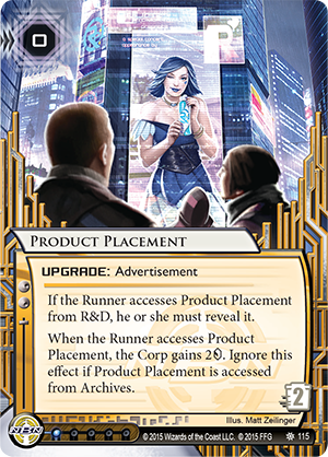 Android Netrunner Product Placement Image