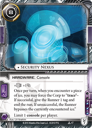Android Netrunner Security Nexus Image
