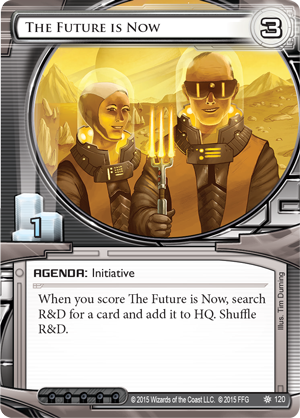 Android Netrunner The Future is Now Image