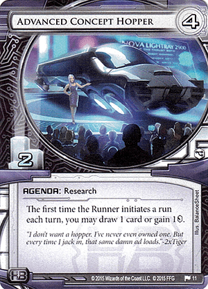 Android Netrunner Advanced Concept Hopper Image