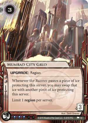 Android Netrunner Mumbad City Grid Image