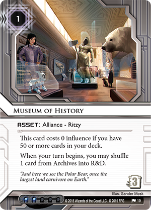 Android Netrunner Museum of History Image