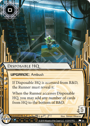 Android Netrunner Disposable HQ Image