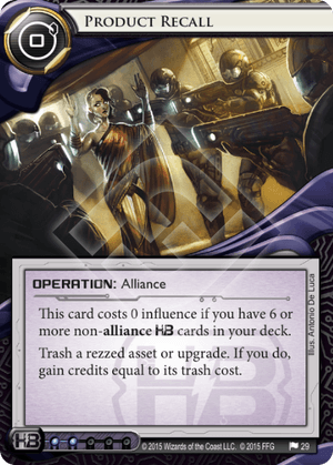 Android Netrunner Product Recall Image