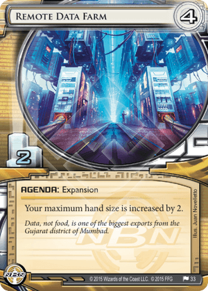 Android Netrunner Remote Data Farm Image
