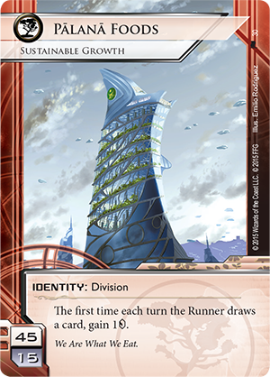 Android Netrunner Pālanā Foods: Sustainable Growth Image