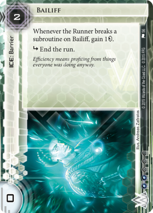 Android Netrunner Bailiff Image