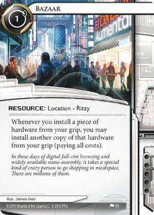 Android Netrunner Bazaar Image