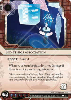 Android Netrunner Bio-Ethics Association Image