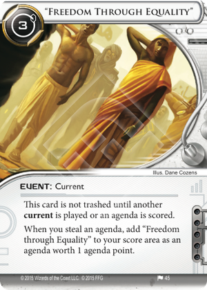 "Android Netrunner ""Freedom Through Equality"" Image"