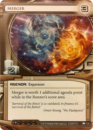 Android Netrunner Merger Image