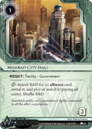 Android Netrunner Mumbad City Hall Image