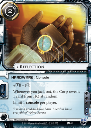 Android Netrunner Reflection Image