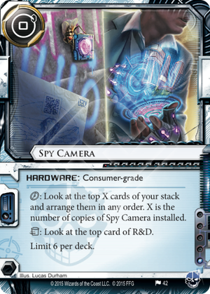 Android Netrunner Spy Camera Image
