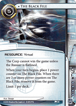 Android Netrunner The Black File Image