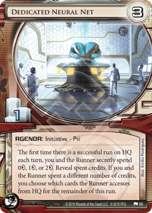 Android Netrunner Dedicated Neural Net Image