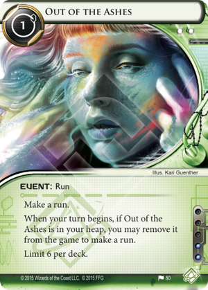 Android Netrunner Out of the Ashes Image