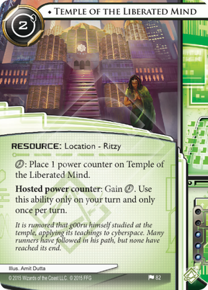 Android Netrunner Temple of the Liberated Mind Image