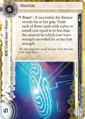 Android Netrunner Waiver Image