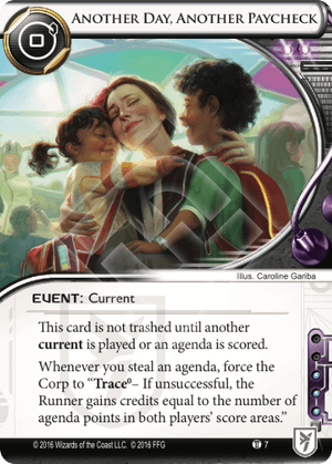 Android Netrunner Another Day, Another Paycheck Image