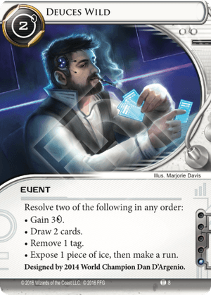 Android Netrunner Deuces Wild Image