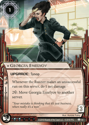 Android Netrunner Georgia Emelyov Image